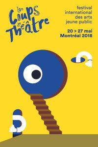 Affiche du 15e festival Les Coups de théâtre