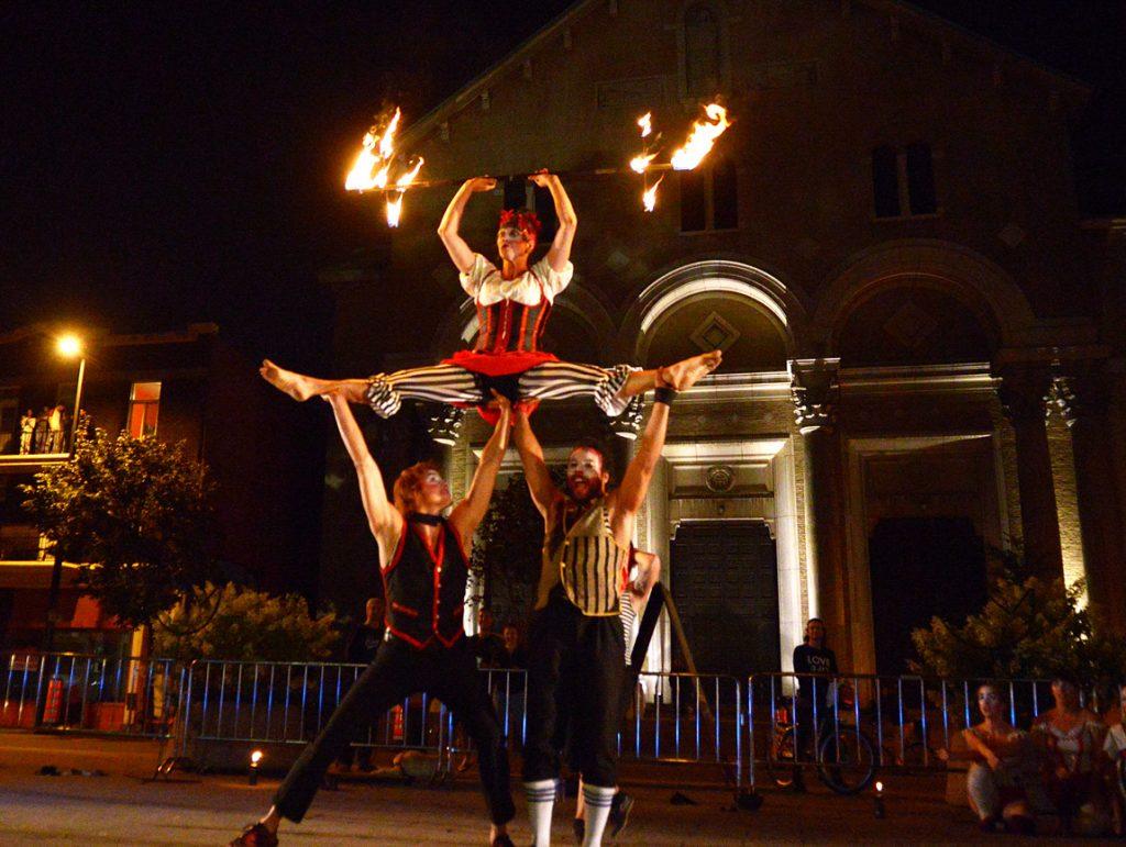 Le Cirque au Grand banquet du p'tit gars de Sainte-Marie (août 2017)